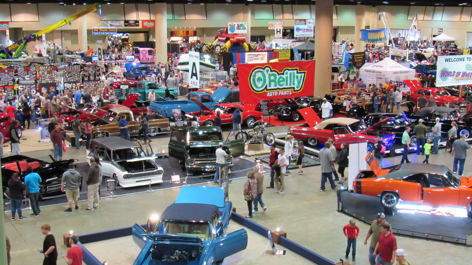 OReilly Auto Parts World Of Wheels The RPM Standard - Car show birmingham al