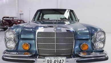 Photo of The King's 1971 280 SEL Mercedes-Benz Has Left The Building
