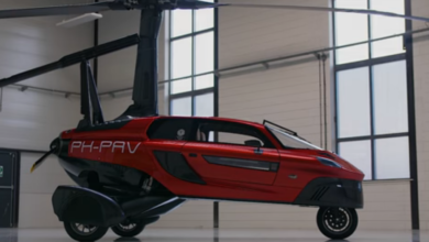 Photo of The PAL-V Flying Car Production Model