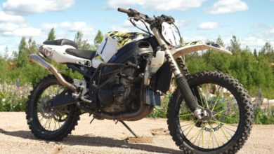 Photo of Insane Suzuki GSX-R 1000 Dirt Bike