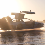 hovercraft delorean