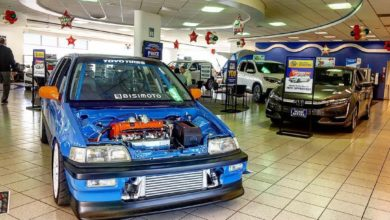 Photo of Old School AWD Swapped Turbo Civic Wagon