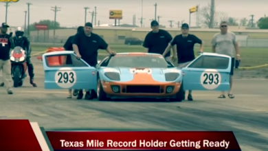 Photo of First Street Legal Car To Reach The 300 MPH Standing Mile Record