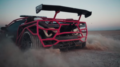 Photo of Twin-Turbo Lamborghini Rally Car