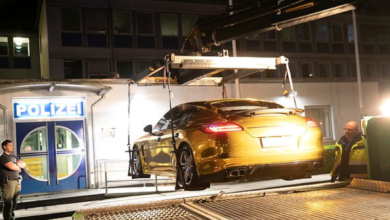 "Photo of German Police Confiscate Porsche For Being Too ""Shiny"""