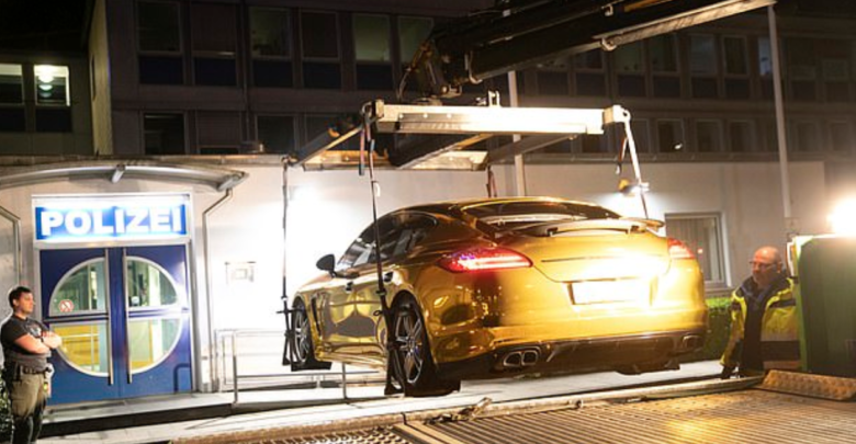 """Photo of German Police Confiscate Porsche For Being Too """"Shiny"""""""
