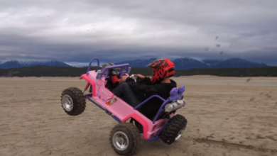 Photo of 50HP Barbie Jeep Power Wheels Is Pure Sinister