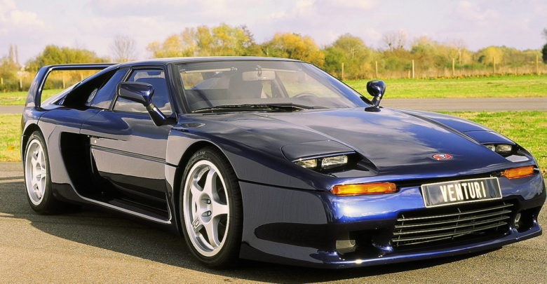 Photo of The French Supercar: Venturi 400 GT