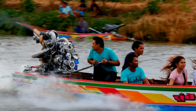 Photo of Deceptive Speed! Twin-Turbo 400hp Thai Longtail Boat