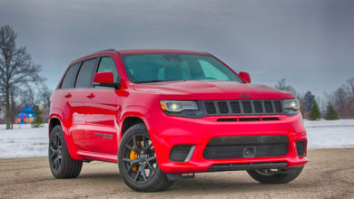 Photo of Hellcat Powered Jeep Clocks At 142 MPH On NH Interstate