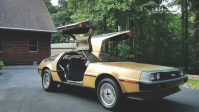 Photo of The 24K Gold Plated DeLorean DMC-12