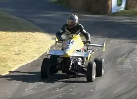 Photo of Beast Mode: Quad With GSX-R1000 Engine Savages Hill Climb