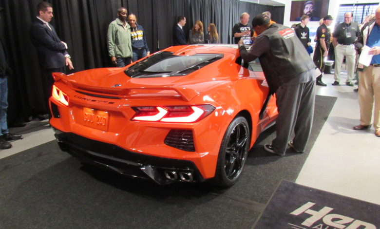 Photo of 2020 C8 Corvette Unveiling At Hendrick Chevrolet