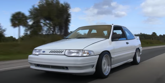 Photo of This Early 1990s Ford Escort With 400 WHP Makes For An Awesome Sleeper