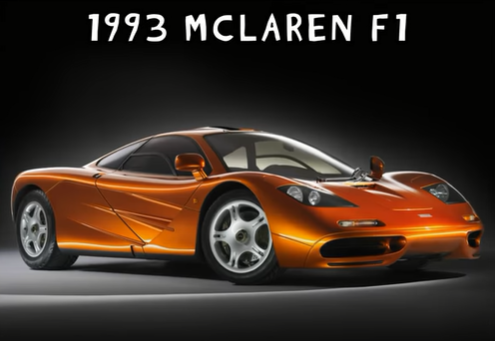 Photo of A Timeline Of The Fastest Production Cars Ever Made